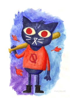 Mae (Night In The Woods) by PrettyAlice95