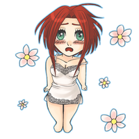 Green-eyed Chibi Esther ^^ by Elly3981
