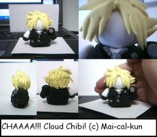 Chibi Cloud by Mai-cal-kun