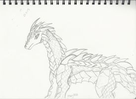 Armored Dragon by rosey996