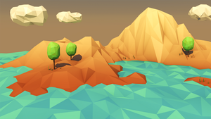 Low Poly Landscape by error-23