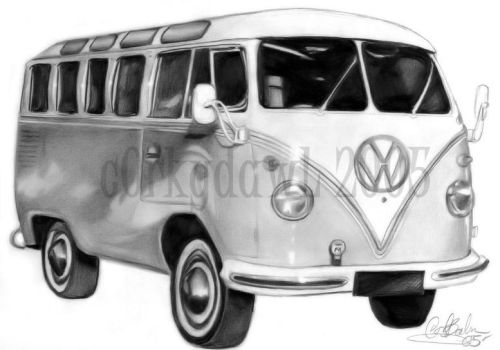 1960s VW Van by c0rkydawL