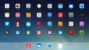 iOS 7 App Launcher by nik2104