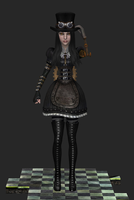 Steampunknew, wip 1 by tombraider4ever