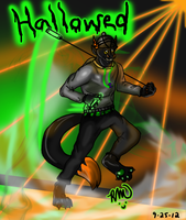 Hallowed-ween Rave by RayaWolf