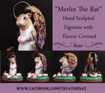 Merlin The Ratty Angel(With base, in detail) by natamon