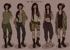 Keeley Outfits by kroolishka