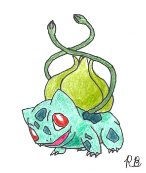 Bulbasaur by Jetavian