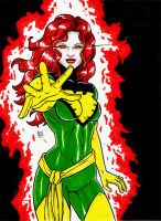 Jean Grey (The Phoenix) by BanebrookStudios