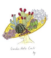 Garden Hats: Cacti by Allison-beriyani