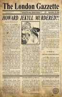 Howard Jekyll Dies by WayneReinagel