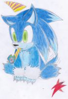 sonic werehog chao by Silver-Blaze-4-ever