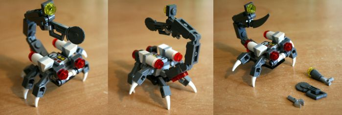 Dental Scorpion Robot by KupoGames