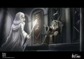 Lord of the Rings Fanart by Markdotea