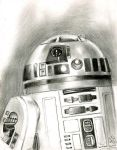 r2d2 sketch number 2 by bamboleo