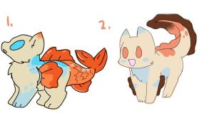 FREE Catfish adopts-CLOSED by PillowRabbit