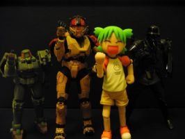 """4ch's toy """"Strike a pose"""" by TheLOL"""