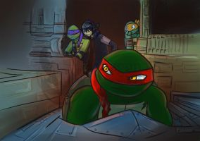 Tmnt Jonatello - Havoc in the Shellraiser by Dragona15