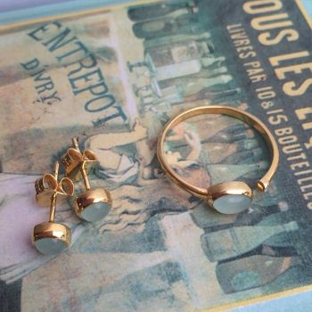 Needs Jewellery Pearl Ring Earrings by jacobm26