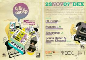 Talk Is Cheap Flyer 2 by SeBDeSiGN