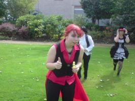 August 5- Running by Birmingham-Cosplay