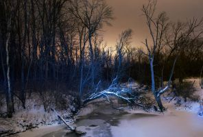 snowy river crossing 1 by wolvesone