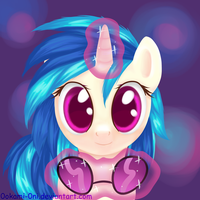 Vinyl Scratch by 0okami-0ni