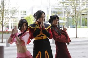 A:tLA- Ozai's Angels by AkaYoru