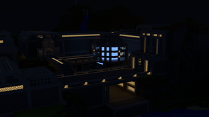 Minecraft Night Blue Power by PoPlioP