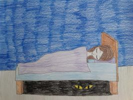 2. Monster underneath the bed by PercyJacksonFangirl1