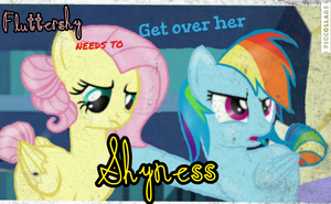 'Fluttershy Needs to get over her Shyness' by MLPBASESEGRR
