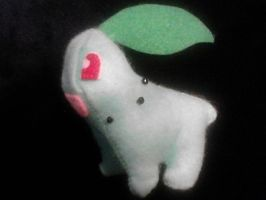 Chikorita Plush by NerdLass