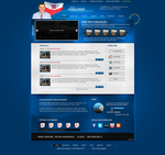 Presidential candidate website by Lukezz