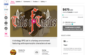 April ToT Crowdfunding IGG by co-comic