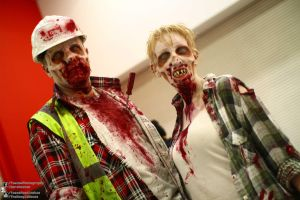 Left For Dead Zombies Cosplay 2012.10.26 MCM by TMProjection