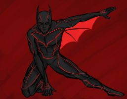 Batman Beyond by Demon-Sword-Art