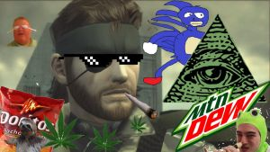 MLG BIG BOSS TO CELEBRATE MGSV HD 1080P DANK MEME by JohnScena