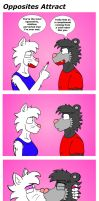 Opposites Attract by NeroUrsus