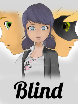 Blind (book cover) by ErikaEmber