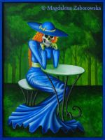 Skeleton Lady by Sessentesis