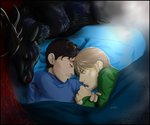 Hannigram - Time to sleep by FuriarossaAndMimma