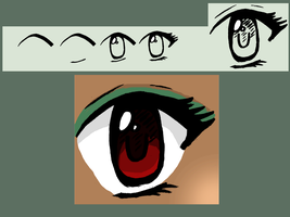 Eye Tutorial ~ Request by addy771 by lovetadraw