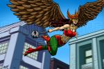 Commission - Hawkgirl by SeanRM