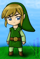 Chibi Toon Link Colored by Sarinilli