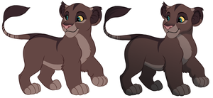 Adoptable Cub #1 - Sold! by kohu-arts