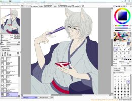Tomoe Preview - WIP by Ringo101