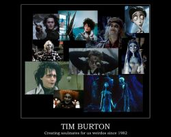 Tim Burton Motivational by disenchanted987