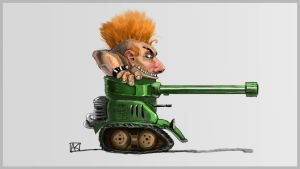 Tank Boy by ne0n1nja