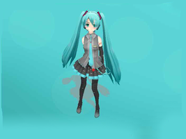Love Death Miku DOWNLOAD by CandyPopMMD