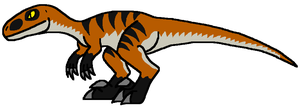 Minor-Miners Velociraptor by DinoWrassler620